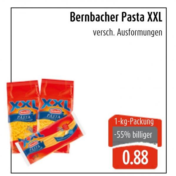 LOKAL - EWS Markt - 1000 g Bernbacher XXL Pasta für 0,88 Euro