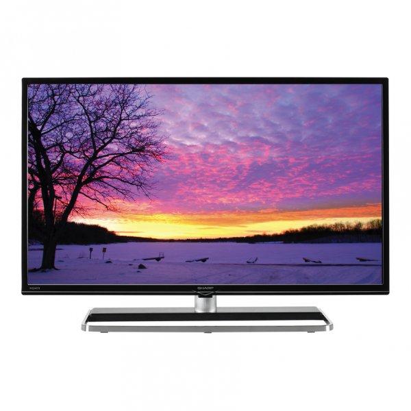 Sharp LC-40LE363EN-BK 102 cm (40 Zoll) LED-TV, Full HD, 300 Hz, Triple Tuner, WLAN, Smart TV, DLNA