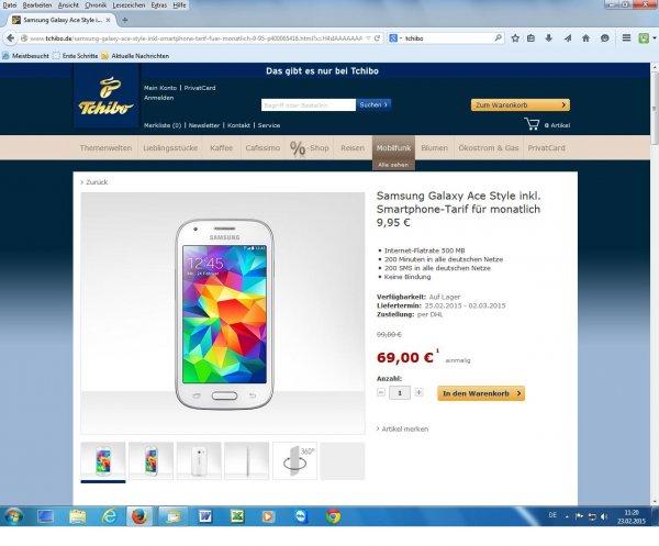 Samsung Galaxy zum super Preis bei Tchibo!