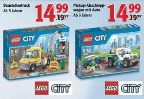 LEGO Baustellentruck / Pickup Abschleppwagen für 14,99€ @ Globus (lokal)