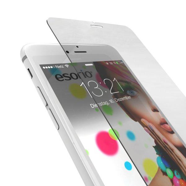 25x // esorio® Premium iPhone 6 Schutzfolie Panzerglas
