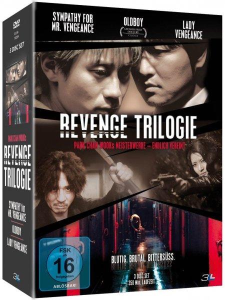 [Amazon Prime] Revenge Trilogie (Sympathy for Mr. Vengeance / Oldboy / Lady Vengeance) [3 DVDs]