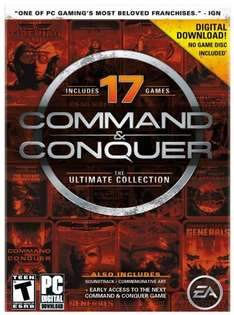 ORIGIN - Command and Conquer The Ultimate Collection (17 Titel) ~ 4,41€ @ Amazon.com