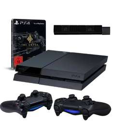 PlayStation 4 - Konsole + The Order + Cam + 2. Controller für 449€