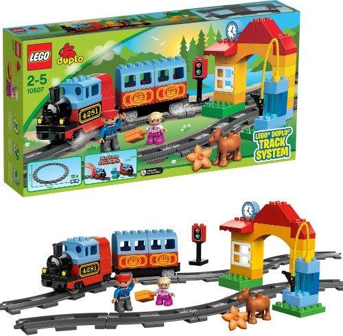 MyToys.de, LEGO 10507 Eisenbahn Starter Set & 10506 Eisenbahn Zubehör Set für 42,94€