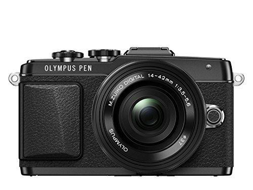 Olympus PEN E-PL7 + 14-42mm EZ Pancake schwarz für 486,23 € @Amazon.fr