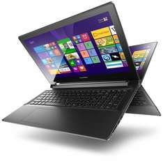 Lenovo Flex 2-15 (15,6 Zoll FHD IPS Touchscreen) Convertible Notebook (Core i3-4010U, 4GB RAM, 500GB HDD, Intel HD 4400, Win 8.1) schwarz für 399€ @Amazon.de