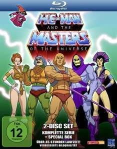 bücher.de He-Man and the Masters of the Universe - Season 1 + 2 Blu Ray 37,99€