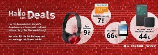 LOKAL - Vodafone Shop Köln Schildergasse - Angebote ab € 7,50 16GB microSDSpeicherkarte