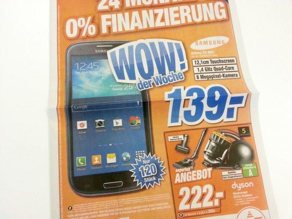 [lokal Calw] Samsung Galaxy S3 NEO nur 139€