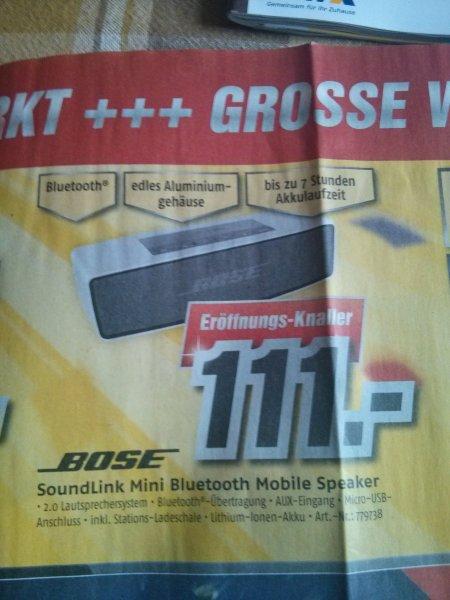 BOSE soundlink mini 111€     Lokal Berlin/Dallgow