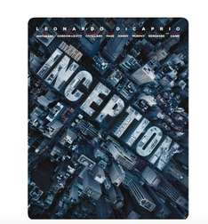 Inception Steelbook [Blu-ray] [Limited Edition] für 11€ bei Saturn