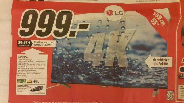 [lokal Castrop-Rauxel] LG 55UB836V 4K TV für 999 EUR @Mediamarkt