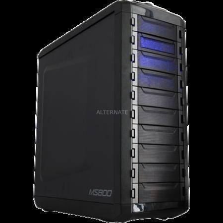 [ZackZack]Zalman MS800 Midi-Tower PC-Gehäuse (ATX, 7x 5,25 externe, 3x 3,5 interne, 2x USB 3.0) schwarz für 44,94 inc.VSK
