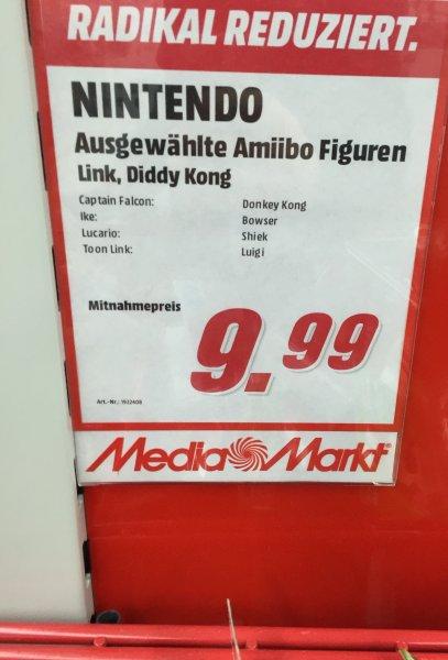 [Lokal MM Viernheim] Amiibo für je 9,99€ auch seltene wie Captain Falcon & Lucario