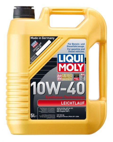 [eBay] Liqui Moly Motoröl 1310 Leichtlauf 10W-40 5 Liter VW MB PSA Peugeot