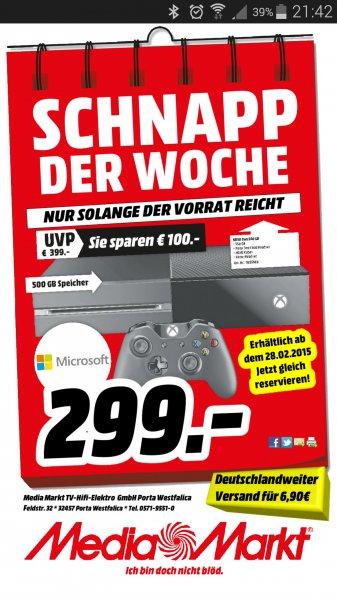 (Lokal Porta Westfalica) Xbox One für 299€