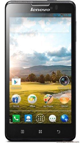 "122€ Lenovo P780 Smartphone - 4000mAh, 5"", HD, Dual Sim"