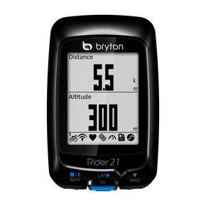 BRYTON Rider 21T GPS Fahrradcomputer incl. Herzfrequenz- und Dualsensor für 102,89€ @notebooksbilliger