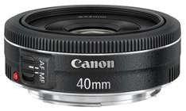 Canon EF 40mm 1:2,8 STM Objektiv [CASHBACK 30€ + 50€] [SPEZIELL]