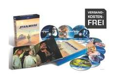 Star Wars: The Complete Saga I-VI (Blu-ray) für 59,99€ inkl. Versand @Saturn.de