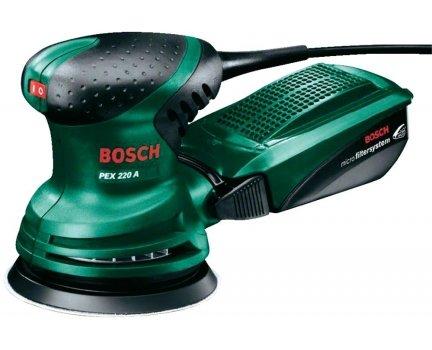 (Schwab) Bosch Pex 220 A Exzenterschleifer dank QIPU und Gutschein für 37.35€