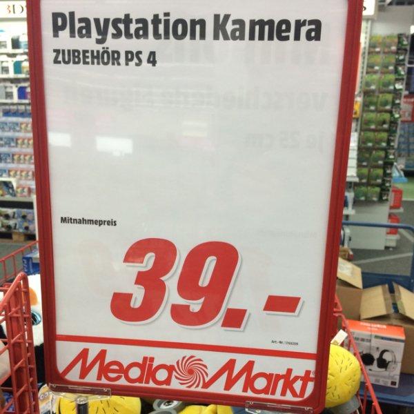 Playstation 4 Kamera im Mediamarkt Berlin Alexanderplatz für 39€