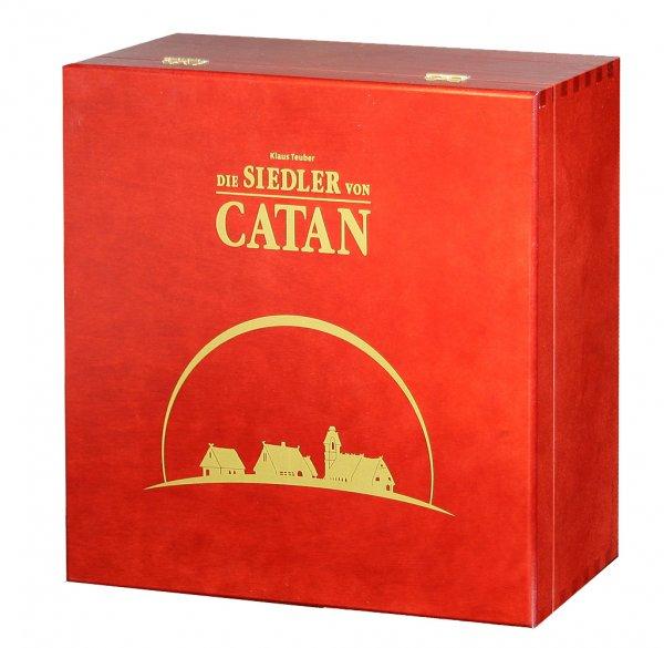 [Bücher.de] Siedler von Catan Jubiläumsausgabe (Holz / 5-6 Spieler) für 29,99€