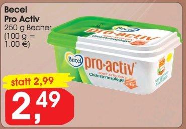 [Jibi KW10] Becel pro-activ geschenkt (Angebot+Coupon)