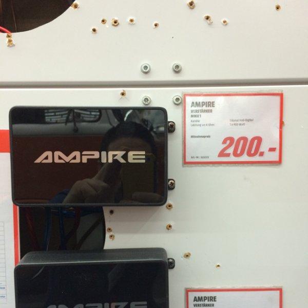 Ampire MMX 1 & 2 Knallerpreis (Alexa Mediamarkt Berlin Mitte)