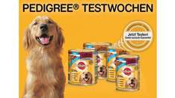 Pedigree-Testwochen mit Geld-zurück-Garantie vom 15.03. - 31.10.2015