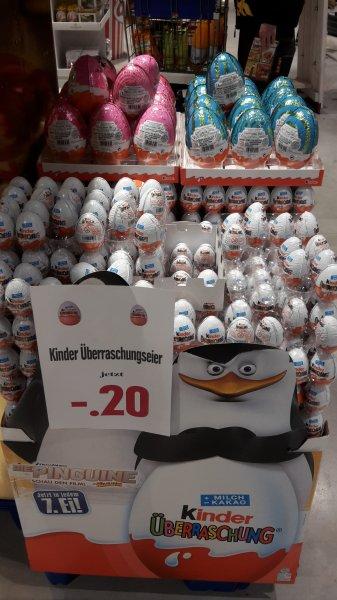 [Lokal Hamburg] Edeka St.Pauli Kinder Überraschungsei(MHD 05.03.2015)