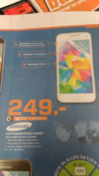 Samsung Galaxy S5 mini für 249€ Lokal Bielefeld Saturn