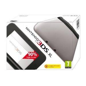Nintendo 3DS XL silber/schwarz [Amazon WHD]