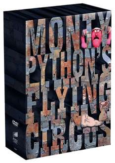 Amazon: Monty Python's Flying Circus 7 DVD - Box mit der kompletten Serie!
