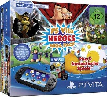 PlayStation Vita Slim Heroes Mega Pack für 125€ @Amazon.de