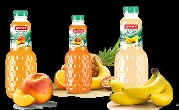 """Granini Trinkgenuss """"fruchtig & leicht"""" 1L für 1,11€ bei Rewe, mit 0,40€ Cashback von scondoo für nur 0,71€"""