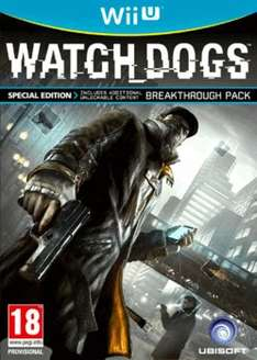 Watch Dogs - Special Edition Wii U für 27,50€ @game.co.uk