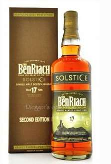 Benriach 17 Jahre Solstice Port Finish limited Edition 0,7 Liter bei 1awhhisky.de für 60,85 €