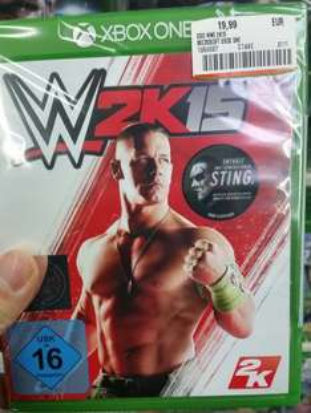 WWE 2k15 19,99€ für Xbox One Mediamarkt Erfurt TEC