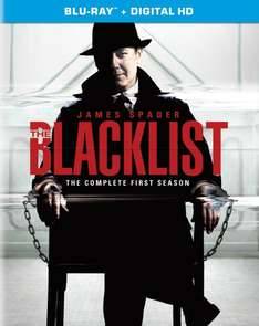 The Blacklist Season 1 (Blu-Ray) 22,97€ + 3€ VSK @ Amazon