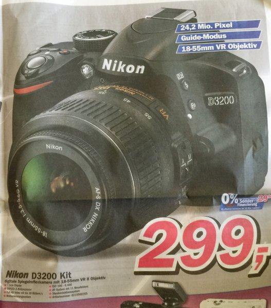 [Lokal: Telepoint Oldenburg] Nikon D3200 Kit mit 18-55mm
