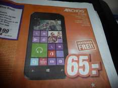 Archos 40 Cesium Windows Phone für 65 € (Lokal Expert Klein - Hanau, Mainaschaff uvm.)