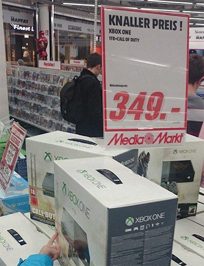 Xbox One Limited Edition (1-TB-Festplatte) @Mediamarkt Stuttgart Milaneo