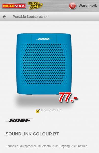(lokal) Bose Soundlink Colour MediMax Berlin-Marzahn