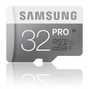 SAMSUNG SPEICHERKARTE 32GB PRO MicroSDHC UHS-I / 90MB/s / Memory Card / Class 10