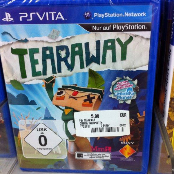 [MM Stuttgart Vaihingen] Tearaway PS Vita