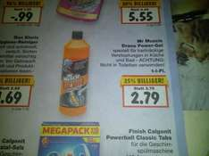 [Kaufland - bundesweit !?] Mr Muscle Drano Power-Gel (mit Scondoo Cashback)