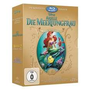 Arielle Box 1-3 als Blu-Ray für 19,99 Euro und als DVD für 12,99 Euro