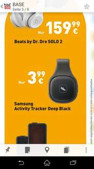 [Base Shop offline] Samsung Activity Tracker für 3,99€